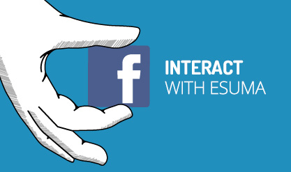 Interact with ESUMA facebook