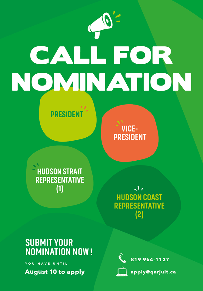 call for nomination